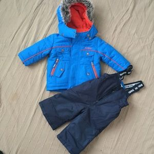 WORN TWICE OshKosh Boy's Snowsuit 12 M